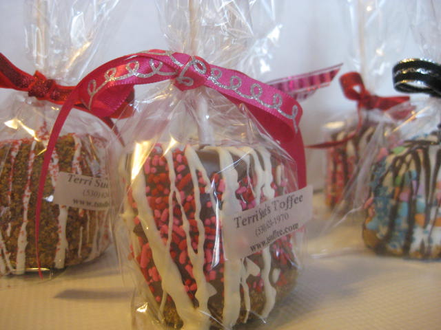 Chocolate Dipped Marshmallow - Valentines Decorations
